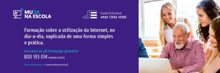Muda na Escola - Formação sobre a utilização da Internet