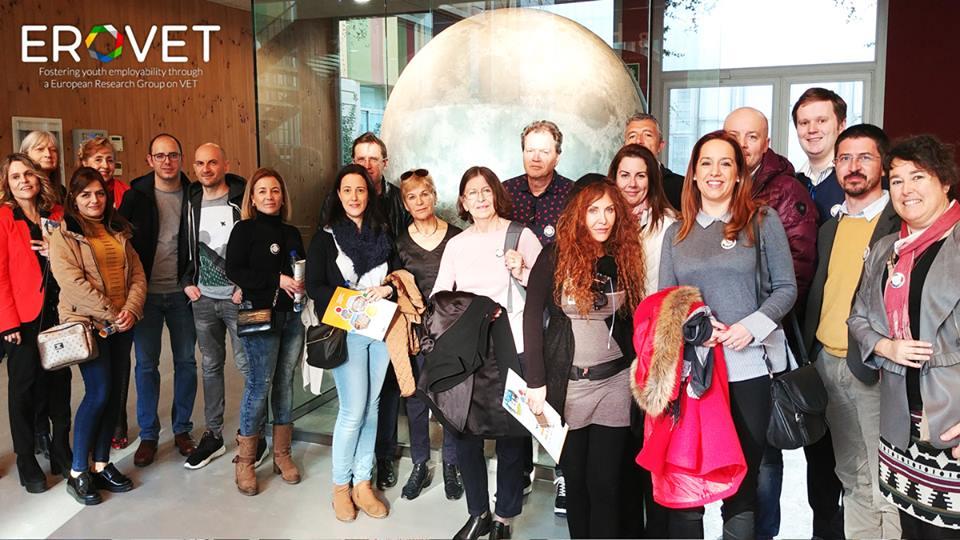 ERASMUS + e EPATV: Lleida foi palco da quarta atividade de formação de docentes do projeto de investigação no Ensino Profissional