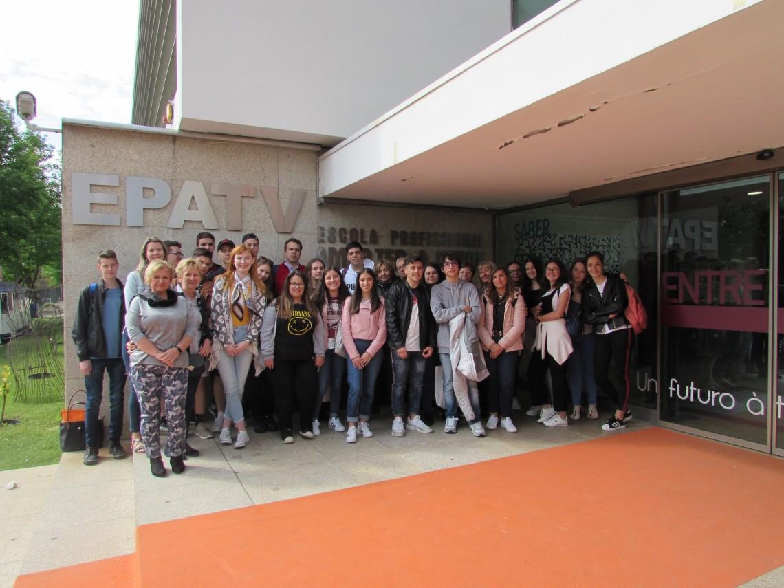 Erasmus+: Economia circular reúne jovens europeus na EPATV