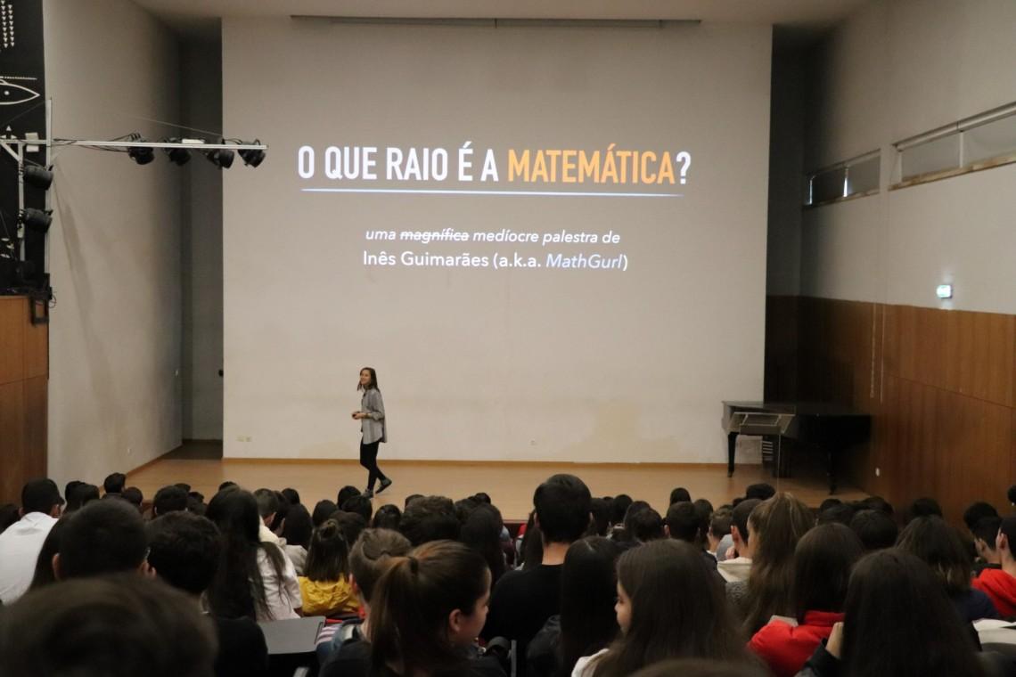O que raio é a matemática? - uma palestra divertida na EPATV