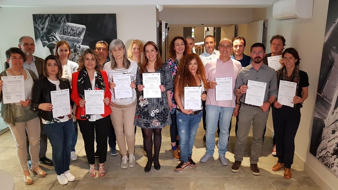 ERASMUS + na Catalunha: EPATV termina projeto sobre a melhoria das condições de empregabilidade e empreendedorismo para jovens