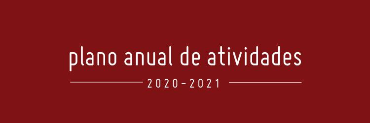 Plano Anual de Atividades 2020-2021